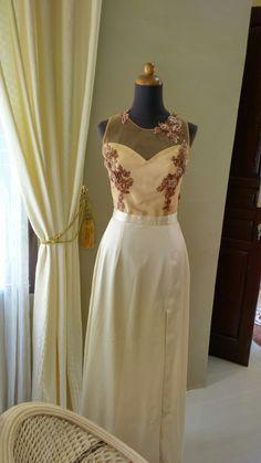 Felicia gown ,unique back