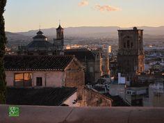 La Catedral de Granada vista desde el Albayzin