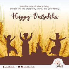 Wishing you and your family a fun-filled Vaisakhi. Baisakhi Images, Baisakhi Festival, Baba Deep Singh Ji, Happy Baisakhi, Harvest Season, Indian Festivals, Digital Wall, Your Family, Special Day