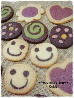 Easy! Cute! Icebox cookies! ~ From image to the recipe - NAVER summary