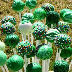 saint patricks day cake pops - Google Search
