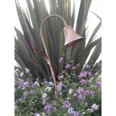 Spun Copper Bell Hat Low Voltage Landscape Light - #67396 | LampsPlus.com