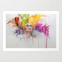 Art Print featuring Elated by Daniel Plaskett