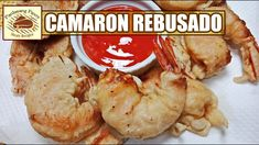 Camaron rebosado or simply known as battered fried shrimps is a tasty appetizer or viand. This shrimp dish is a Filipino version of tempura which is a Japanese Filipino Chicken Barbecue Recipe, Barbecue Chicken, Barbecue Recipes, Filipino Dishes, Filipino Recipes, Filipino Food, Camaron Rebosado, Fried Shrimp, Shrimp Dishes