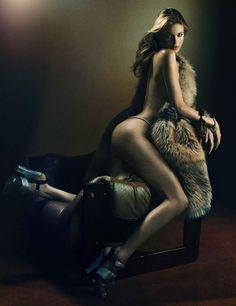 Victoria's Secret Angels for Interview Magazine