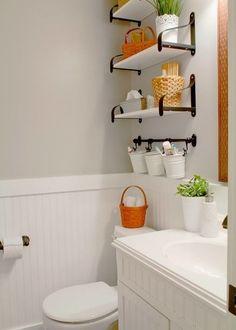 10 idei pentru spațiu suplimentar în baie
