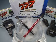 Triple Seven 777 E-cigs: Standard Starter Kit Review