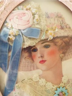 Stunning Victorian Lady ~
