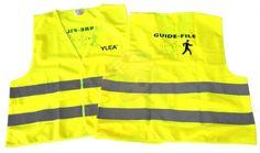 Gilet evacuation incendie guide file et serre file