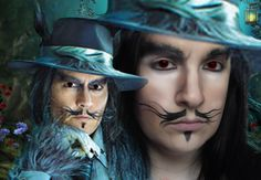 Into The Woods Big Bad Wolf Johnny Depp Make Up ft Stellapolaregirl (Into the Woods)
