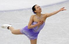 Reach out: Mao Asada performs her short program at the world championships at Saitama Super Arena on Thursday. Mao scored a world-record 78.66 points. | REUTERS (3500×2278) Flawless Mao sets new world record after short program http://www.japantimes.co.jp/sports/2014/03/27/figure-skating/flawless-mao-sets-new-world-record-after-short-program/#.U1tUfFV_teN