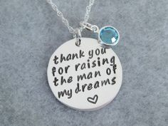 Mother In Law Gift Necklace