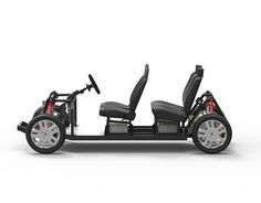 our new open source hardware platform for electric vehicles: 2 or 4 seats. Downloadable for free.