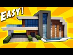 "http://minecraftstream.com/minecraft-tutorials/minecraft-easy-modern-house-tutorial-how-to-build-a-house/ - Minecraft: Easy Modern House Tutorial - How to Build a House  ➜Minecraft: How to Make Modern House / Mansion ➜Thumbs up^^ & Subscribe for more =) ►http://goo.gl/q4AtTD ➜Download houses from my website:             http://billionblocks.com ➜Download My Texture pack: http://billionblocks.com     Called ""FlowsHD"" ▼More House..."