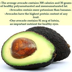 Avocados are Rich in Glutathione!