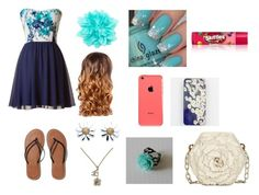 """""""Flower day"""" by jpgymnast11 ❤ liked on Polyvore"""