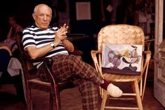 Picasso in Cannes 1960's