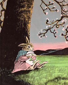The Country Bunny and the Little Gold Shoes by my vintage book collection (in blog form), via Flickr