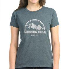 jackson hole wyoming T-Shirt on CafePress.com