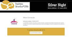 """Nous avons présenté Souvenirs Connectés, """"Partageons votre histoire et vos mémoires"""", devant le Jury inter-générationnel des Trophées SilverEco 2016."""
