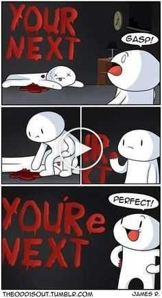 """Afternoon Funnies: 28 Web Comics To Get You Laughing - Funny memes that """"GET IT"""" and want you to too. Get the latest funniest memes and keep up what is going on in the meme-o-sphere. Theodd1sout Comics, Online Comics, Cute Comics, Funny Comics, Odd Ones Out Comics, Funny Cartoons, Funny Memes, Hilarious Jokes, Funny Gifs"""