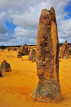 The Pinnacles, Western Australia - Travel Pinspiration: http://www.ytravelblog.com/travel-pinspiration-western-australia/