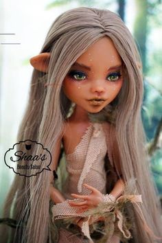 46 Ideas For Doll Repaint Inspiration Custom Monster High Dolls, Monster Dolls, Monster High Repaint, Custom Dolls, Monster High Doll Clothes, New Dolls, Ooak Dolls, Pretty Dolls, Beautiful Dolls