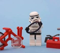 Star Wars - Epic Battle Between Good and Evil on Bicycles #starwars #epic