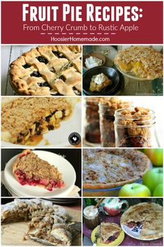 Fruit Pie Recipes -