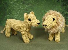 le lion et la lionne