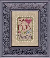 Be Mine Valentine : Lizzie Kate cross stitch patterns Valentine's Day love sweetheart February counted hand embroidery by thecottageneedle Modern Cross Stitch Patterns, Counted Cross Stitch Patterns, Cross Stitch Designs, Cross Stitch Embroidery, Hand Embroidery, Just Cross Stitch, Cross Stitch Needles, Lizzie Kate, Cross Stitch Pictures