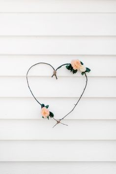 Floral Love: Heart