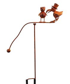 Look at this Old Crow Balancing Buddies Garden Stake on #zulily today!