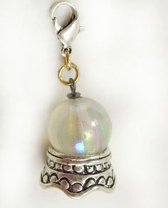 Vintage Fortune Telling Crystal Ball Charm by NeatstuffAntiques, $20.00