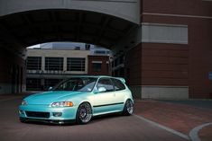 Midori Green Honda Civic EG Hatch