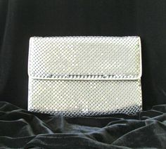 Whiting and Davis Silver Tone Mesh Elegant Evening by PaisleyzPark, $30.00