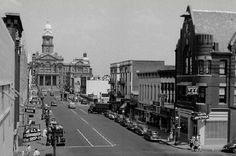 Downtown Fort Worth's Main Street c. 1948-49.