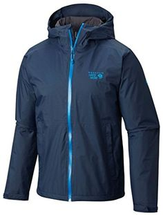 Mountain Hardwear Finder Jacket  Mens Hardwear Navy Large *** Find out more about the great product at the image link.(This is an Amazon affiliate link and I receive a commission for the sales)