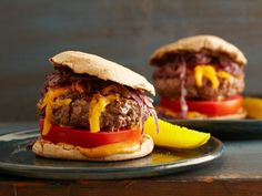 Juicy Grilled Cheeseburgers #RecipeOfTheDay