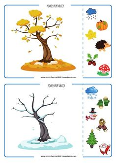 Saisons de l& - flashcards Seasons La meilleure image selon vos envies sur diy face mask sewing pattern Vous cherche - Free Preschool, Preschool Worksheets, Preschool Crafts, Crafts For Kids, Seasons Activities, Activities For 2 Year Olds, Preschool Activities, Teaching Weather, Teaching Kids