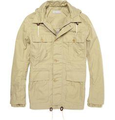 elegant utility--Margaret Howell--Rainproof Cotton Parka Jacket