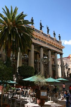 Teatro Juarez.  Guanajuato MEXICO.  (by Scott Clark, via Flickr)