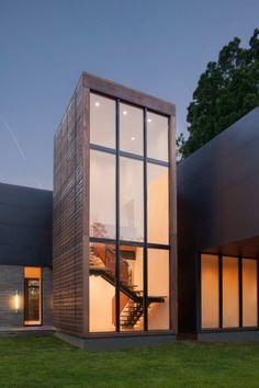 Дом Риггинс (Riggins House) в США от Robert M. Gurney Architect.