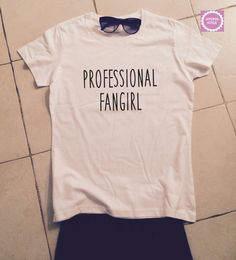 professional fangirl tshirts for women tshirts by stupidstyle