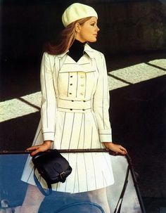 1968 Helmut Newton fashion photography for Queen magazine