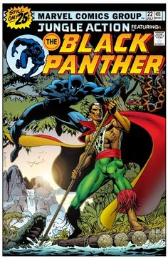 Jungle Action featuring The Black Panther and Brother Voodoo! Djab in Wakanda Cover (colorist art) - CHRIS IVY Comic Art Archie Comics, Marvel Comics, Marvel Comic Books, Comic Books Art, Comic Art, Marvel Heroes, Black Panther Comic Books, Black Panther Art, Black Comics