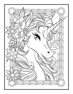 Unicorn Coloring Book - Jade Summer