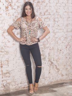 #debrummodas #verão #coleção #calça #skinny #blusa #openshoulder #modafeminina #moda #style #estilo #fashion