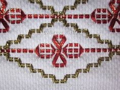 Awesome Most Popular Embroidery Patterns Ideas. Most Popular Embroidery Patterns Ideas. Swedish Embroidery, Japanese Embroidery, Silk Ribbon Embroidery, Crewel Embroidery, Embroidery Patterns, Swedish Weaving Patterns, Craft Patterns, Monks Cloth, Popular Crafts
