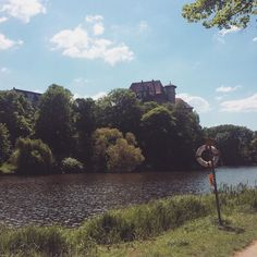 Lunch break with a view #Berlin #lietzensee #charlottenburg #work #urbex #nature #thosetinymoments